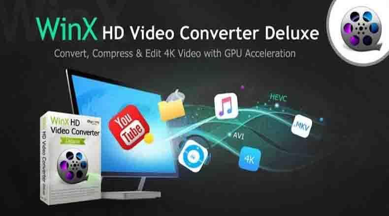 WinX HD Video Converter Deluxe 2021 Free Download